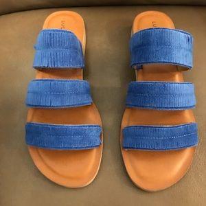 Lucky brand Hegen sandals size 8M